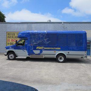 custom bus van wrap vehicle 300x300 Bus Wraps