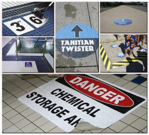 floor vinyl graphics sign outdoor indoor 300x271 Safety Signs