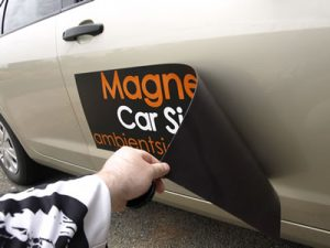 magnetic sign 1 300x225 Vehicle Magnets