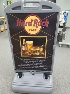 portable temporary a frame promotional sign 225x300 A-Frame Signs