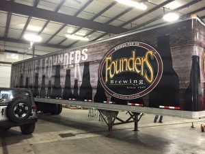 custom semi truck wrap