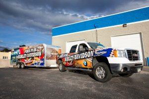 truck tailer wrap vehicle 300x200 Commercial Fleet Wraps & Graphics