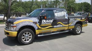 truck wrap vehicle custom 300x169 Vehicle Graphics