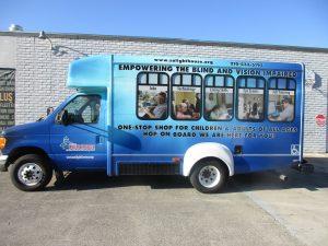 van bus wrap vehicle vinyl outdoor full 300x225 Bus Wraps