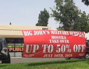 banner outdoor promotional vinyl 300x232 Large Banners